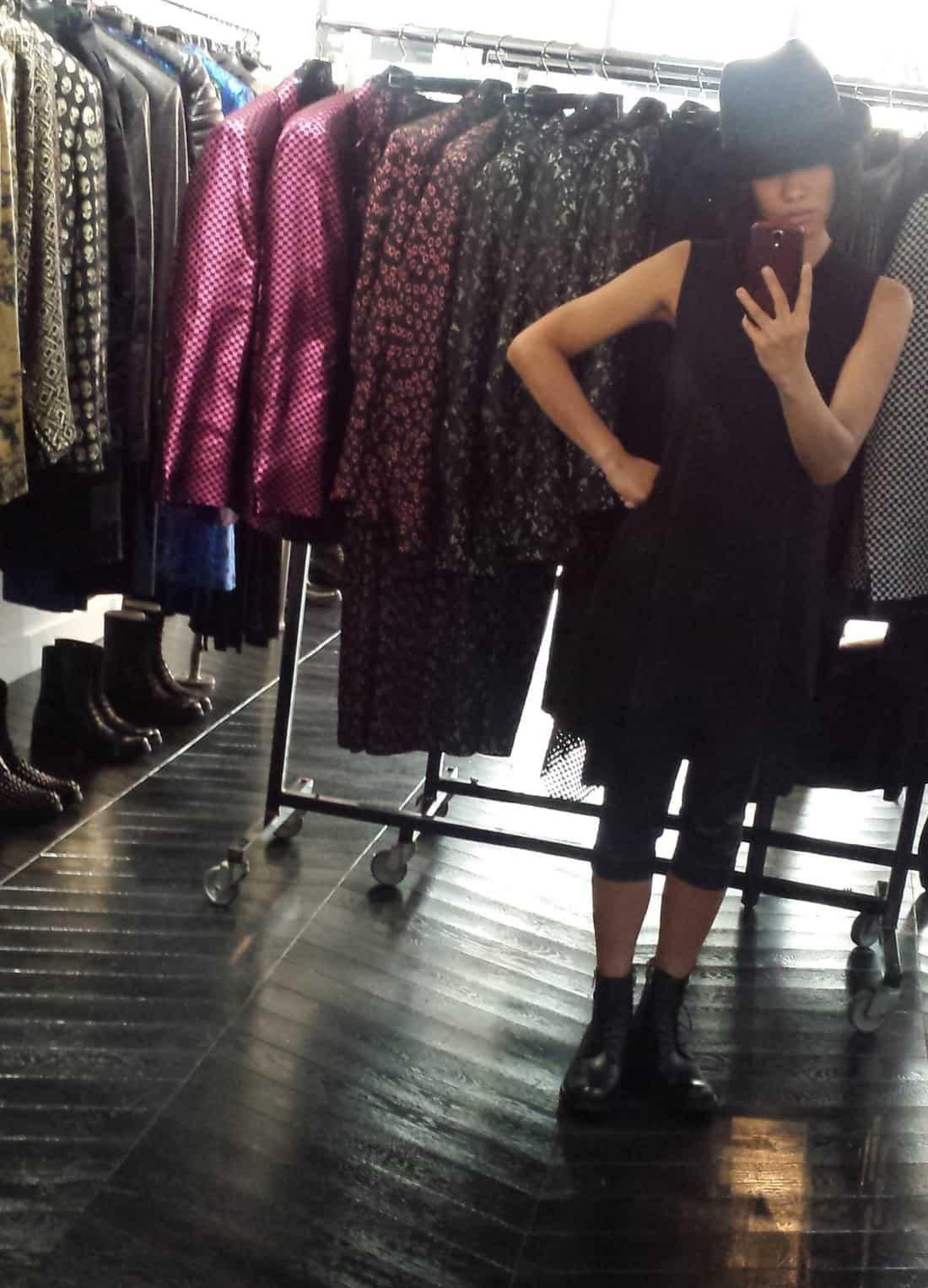 ブラックファッション