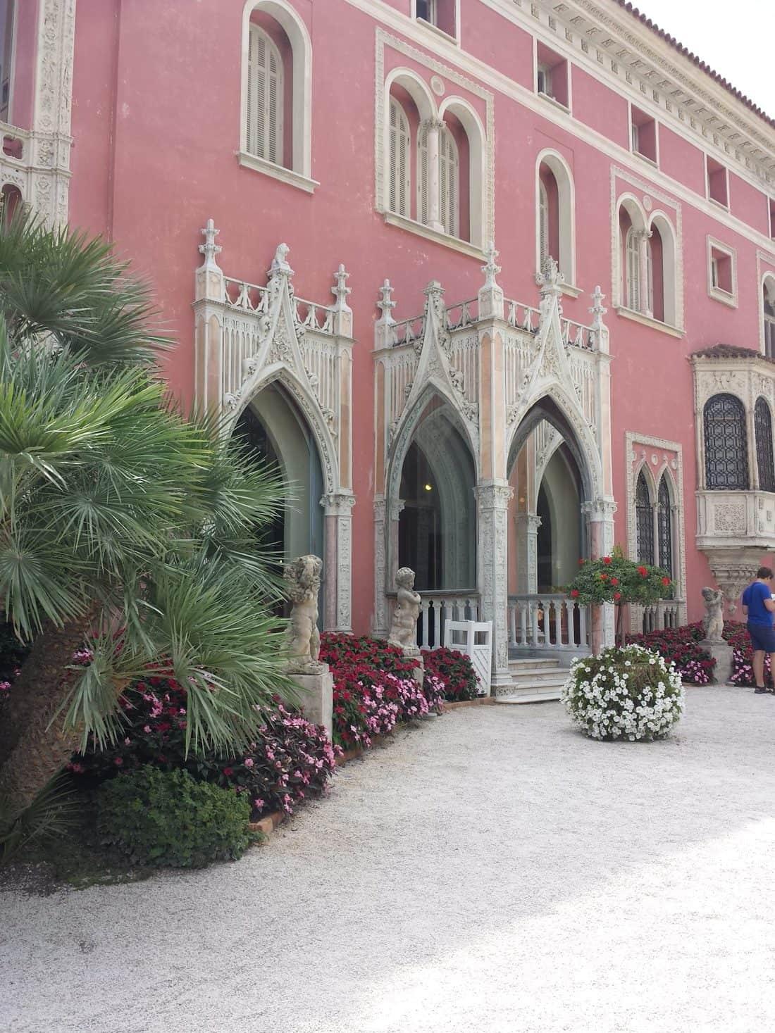ロスチャイルド邸( La villa Ephrussi de Rothschild)