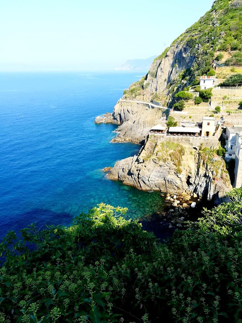 チンクエ・テッレ(Cinque Terre)のリオマッジョーレ (Riomaggiore)