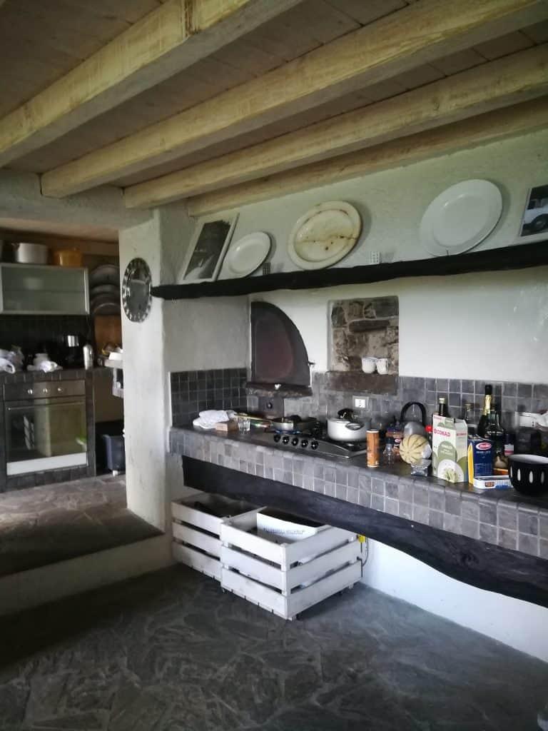 田舎風可愛いキッチン