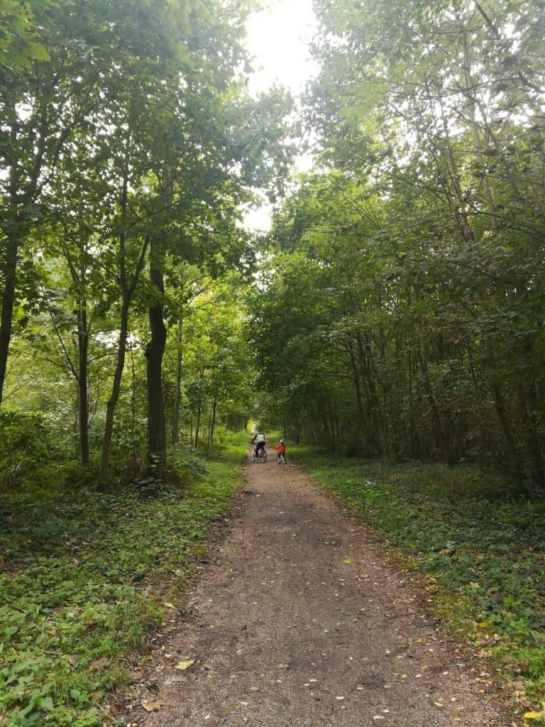 パリ南西部ブローニュの森