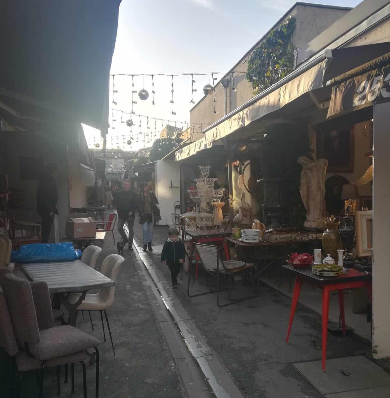 パリの蚤の市 クリニャンクール