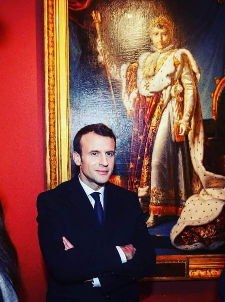 Macron napoleon