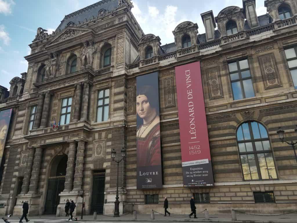 ルーヴル美術館レオナルド・ダ・ヴィンチ展