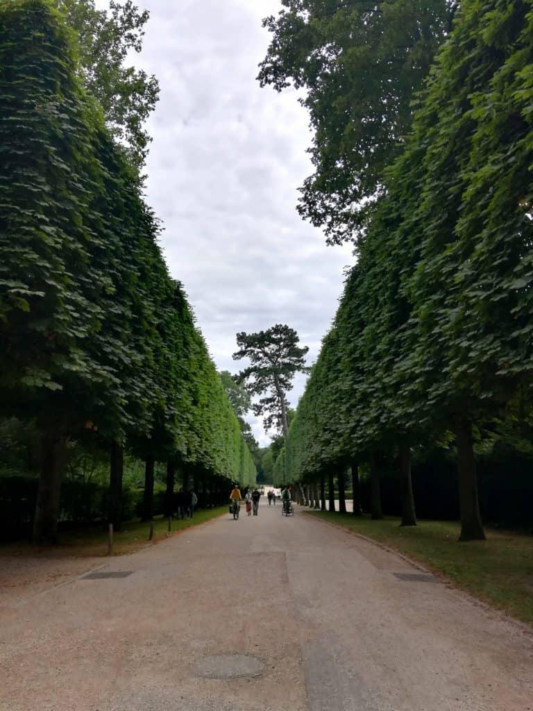 パリ郊外のソー公園