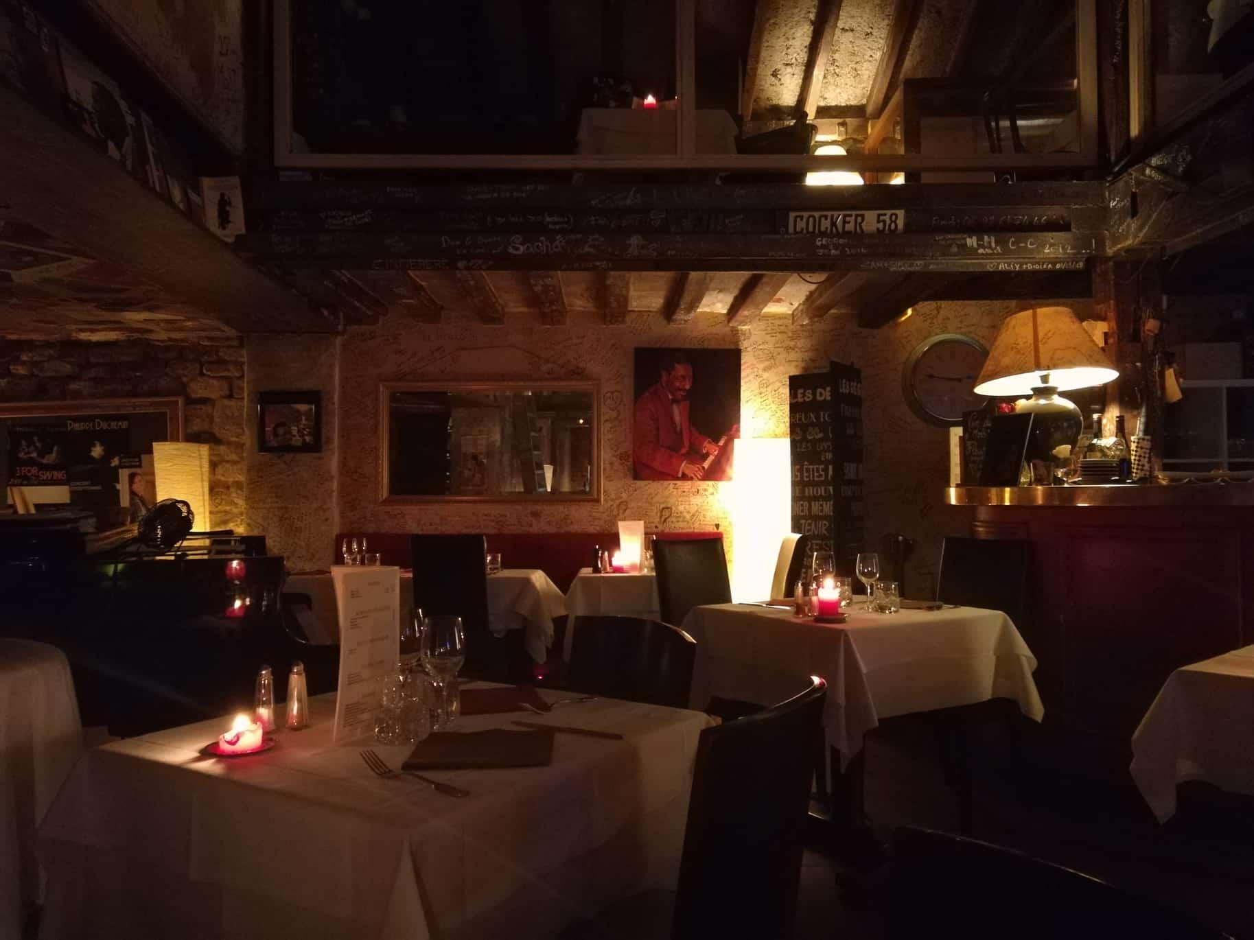 パリのお勧めジャズクラブ(Chez Papa Jazz Club)ジャズクラブシェパパ