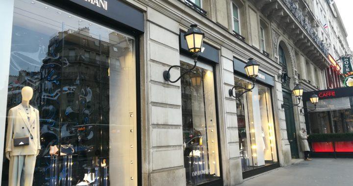 エンポリオアルマーニ パリ