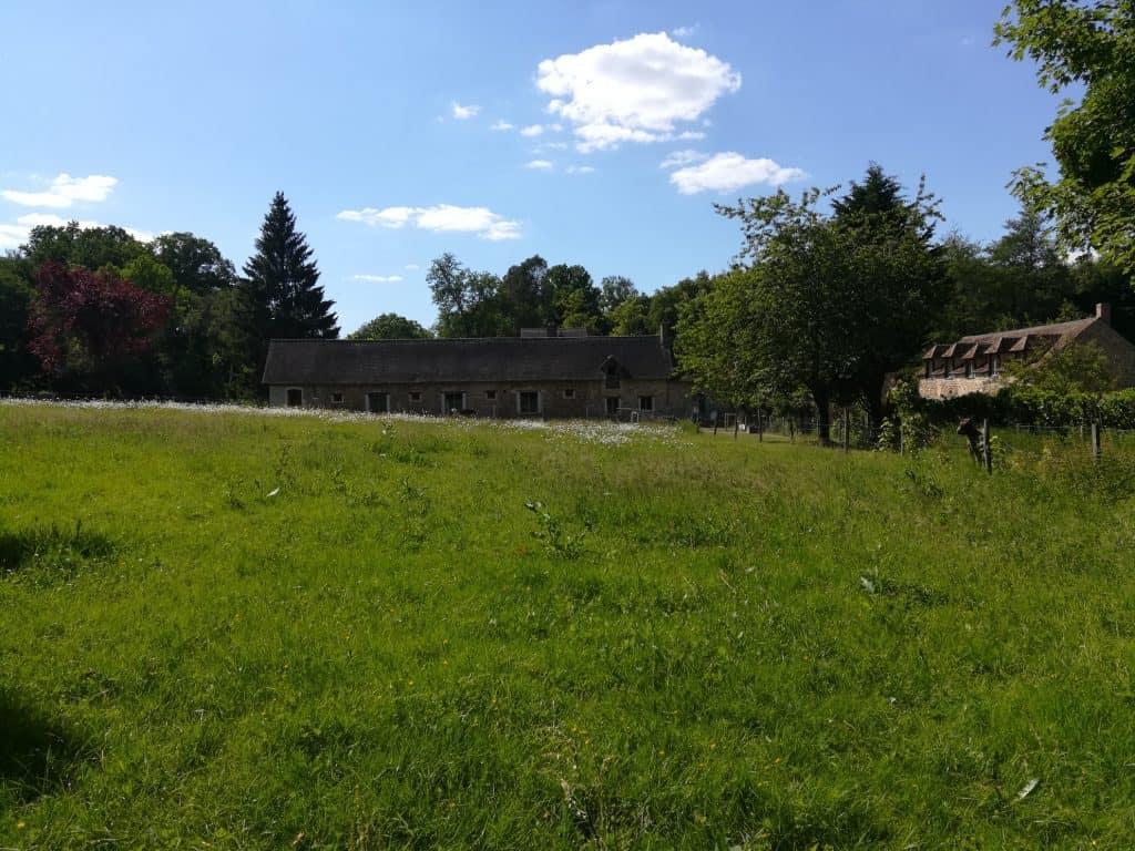 イルドフランスの美しい田舎