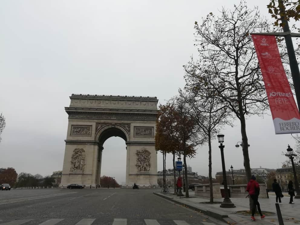 一ヶ月ぶりのパリ中心
