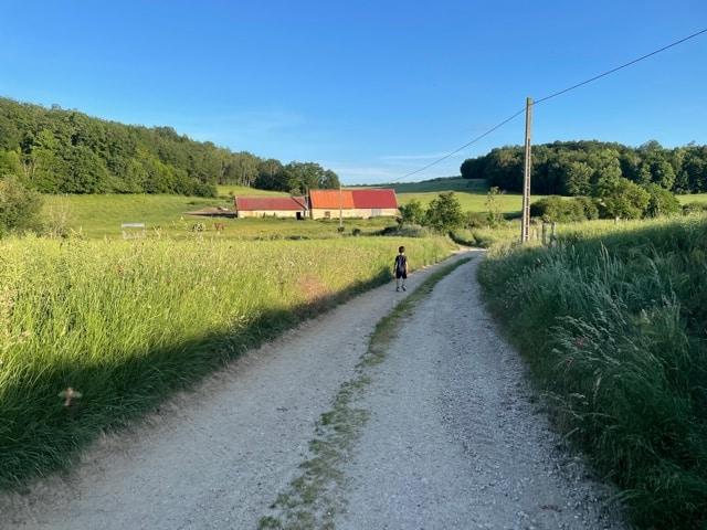 田舎でのんびり